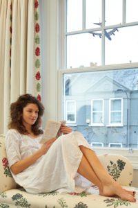 homeowner reading