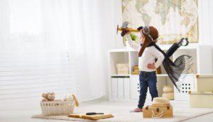 homeowner's child playing