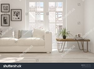 room with urban landscape