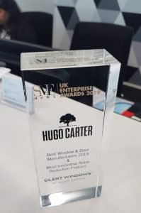 UK Enterprise Award: Best Windows & Doors - Hugo Carter - Silent Windows UK